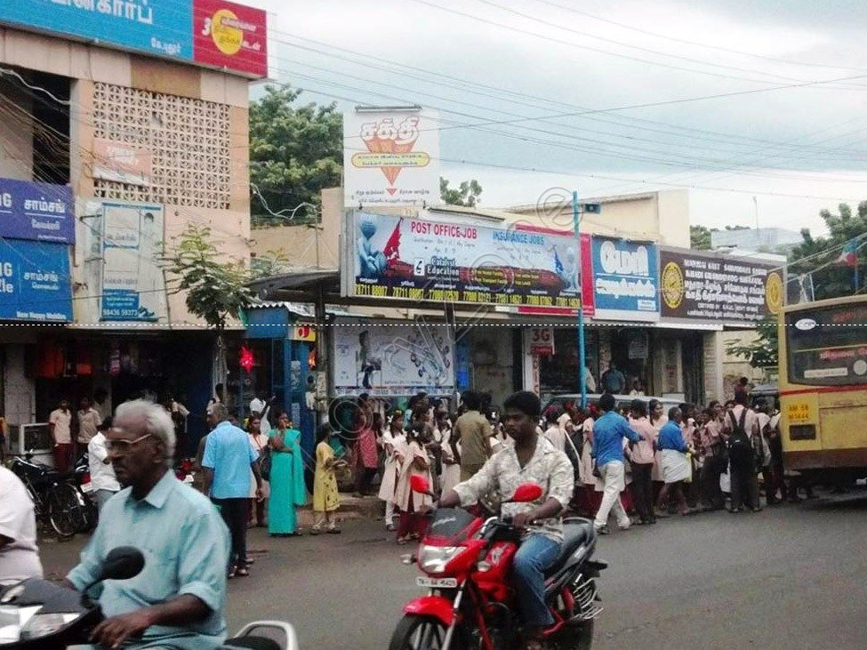 Smart Bus Shelter-Pudur,Madurai