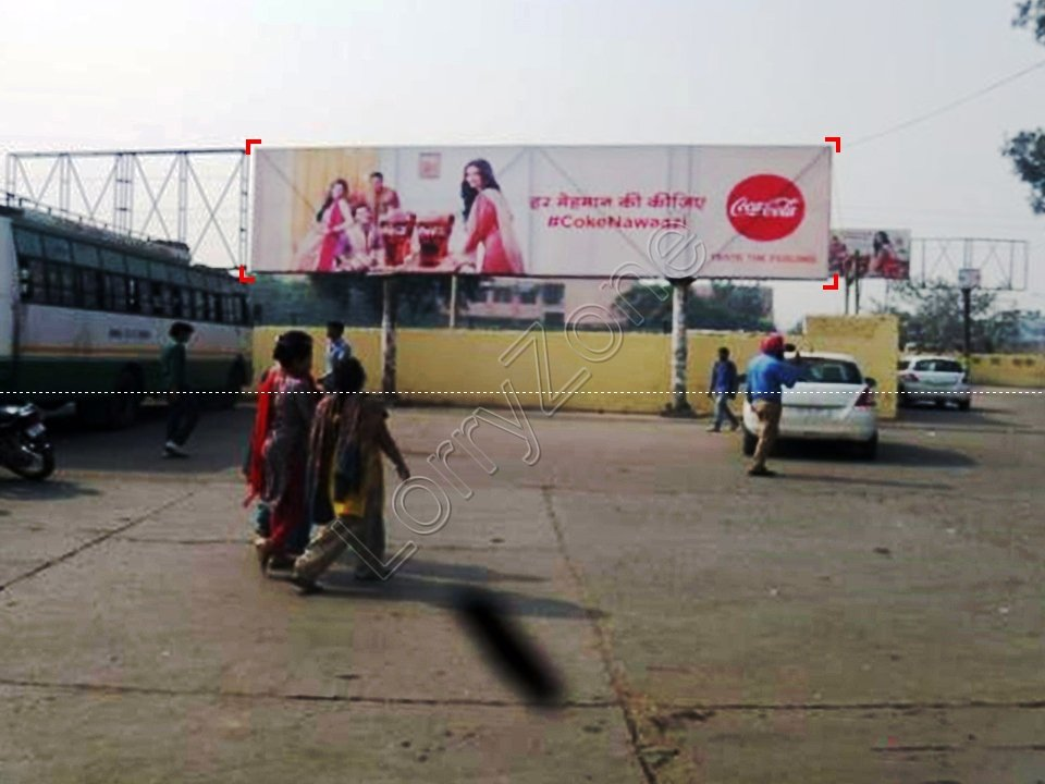 Unipole-Bus Stand,Karnal