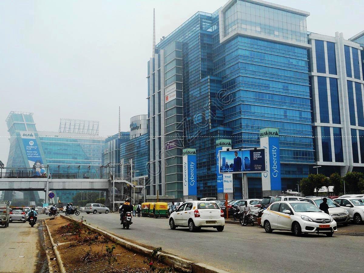 Unipole-DLF Cyber City,Gurgaon