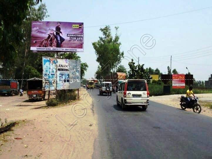 Unipole-Dhela Pul,Kashipur