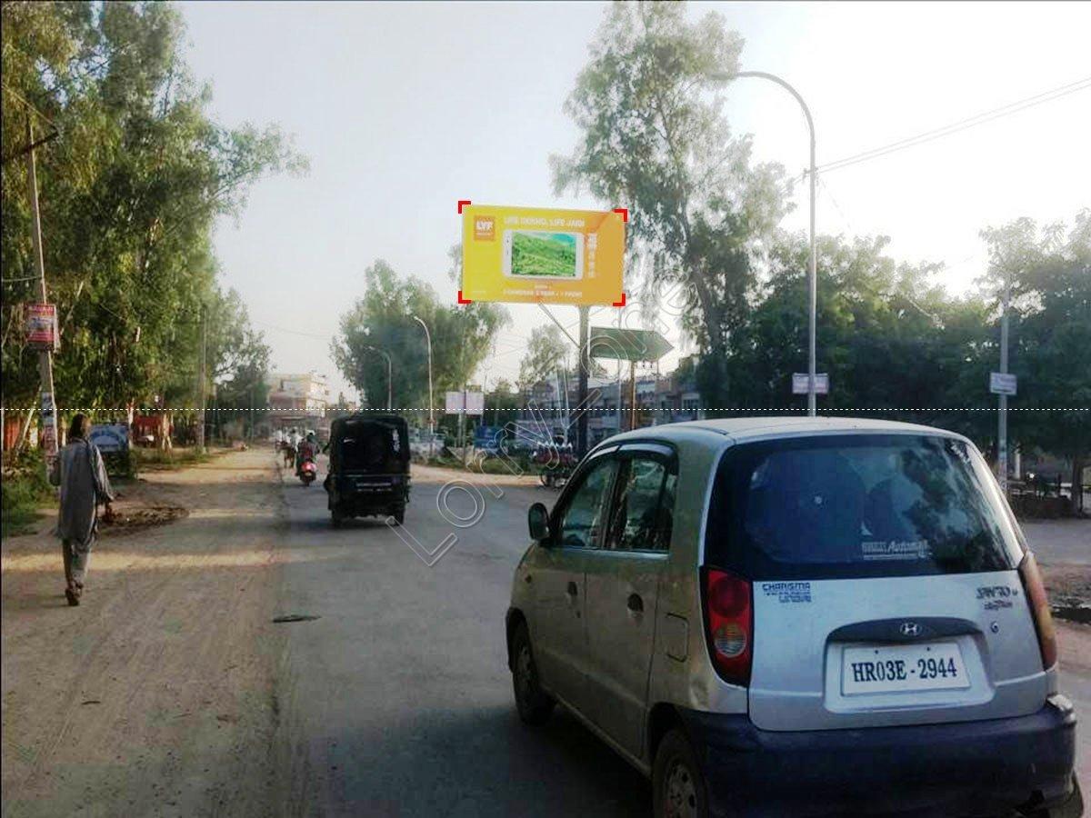 Unipole-Huda Market,Bhiwani
