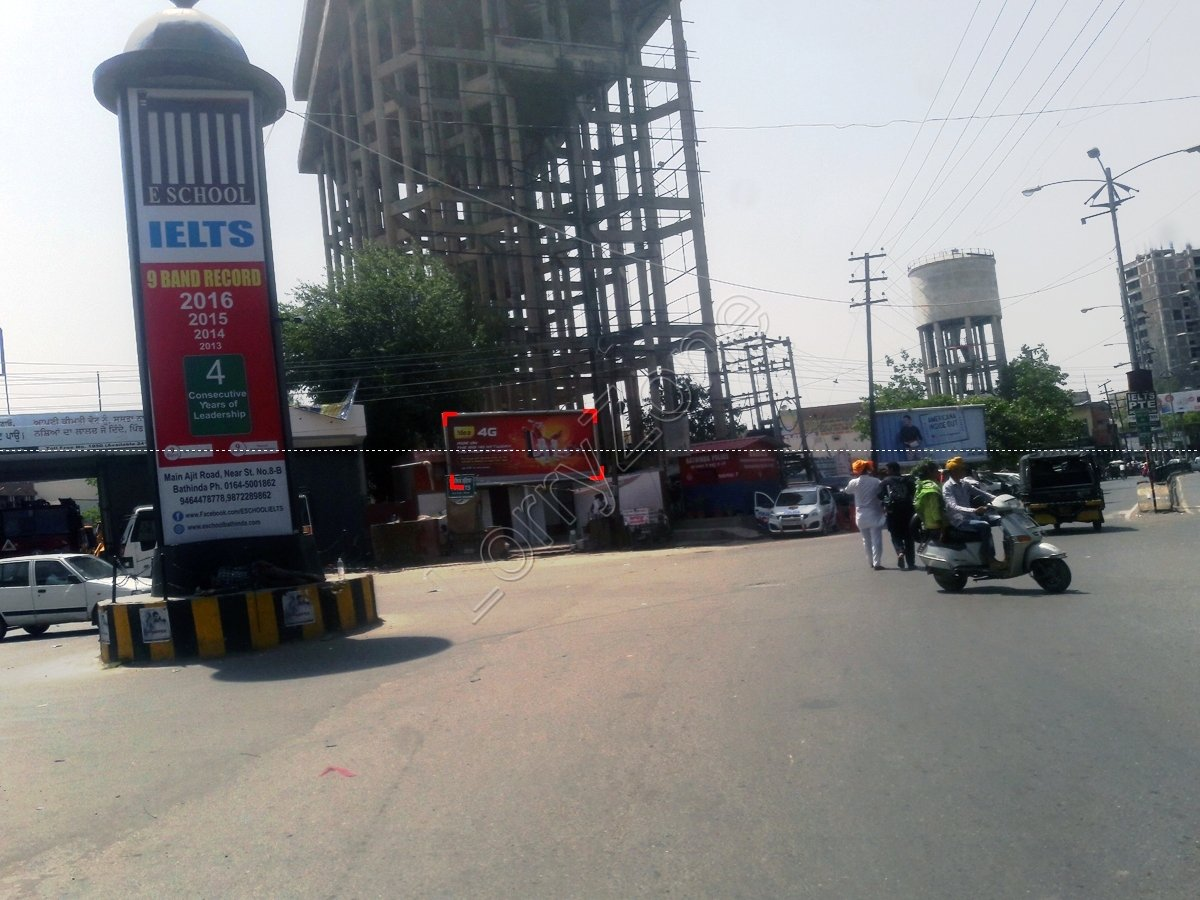 Unipole-Mall Road,Bathinda