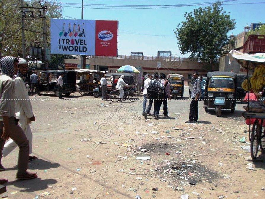 Unipole-Railway Station,Bhiwani