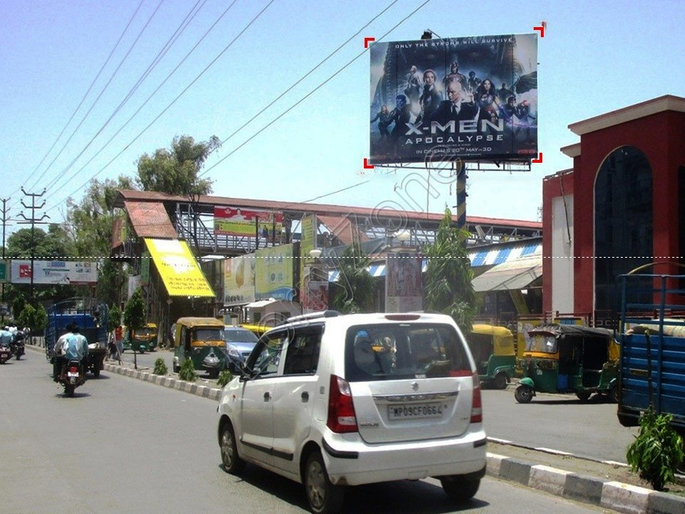 Unipole-Railway Station,Indore