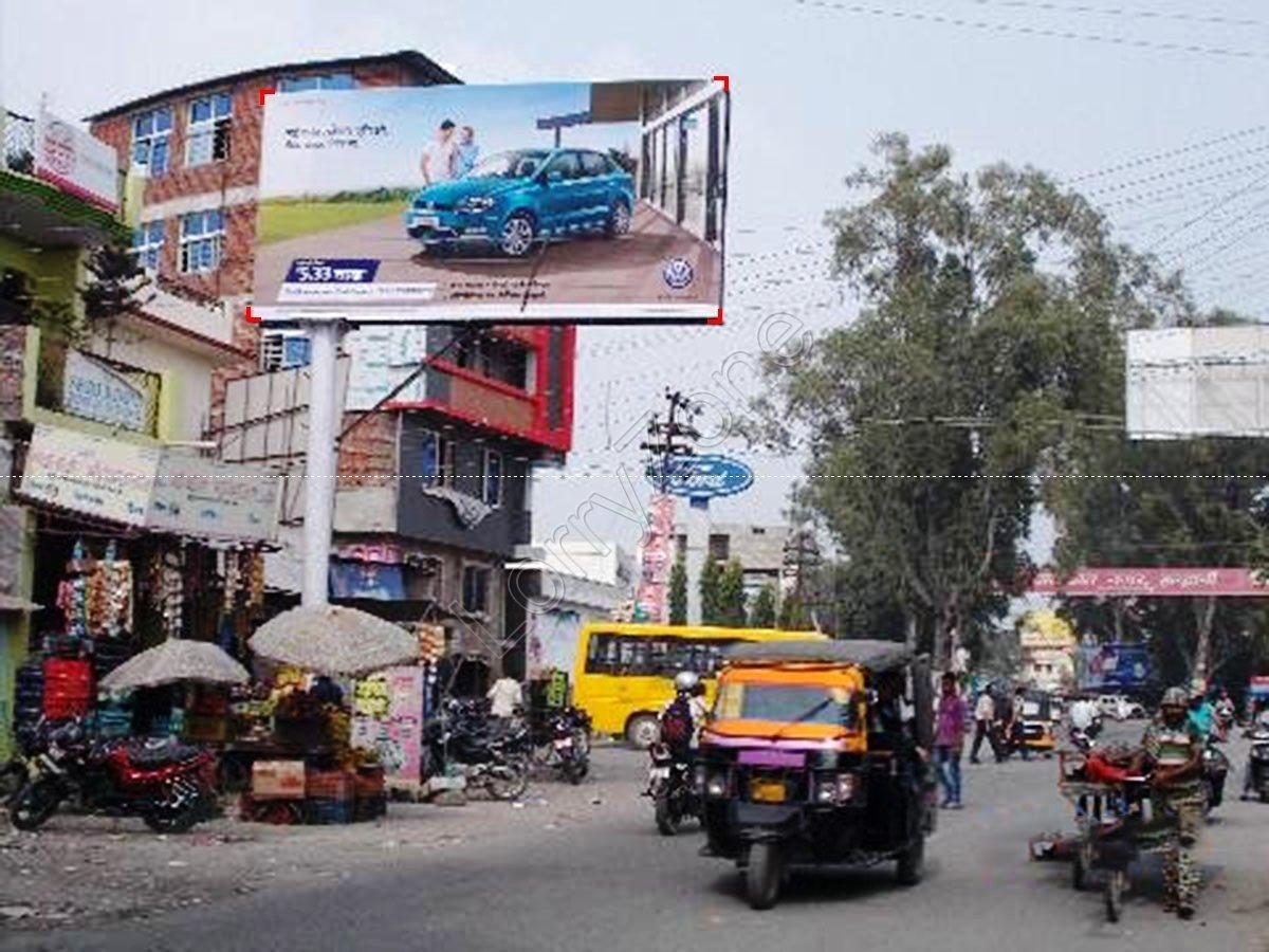 Unipole-Rampur Road,Haldwani