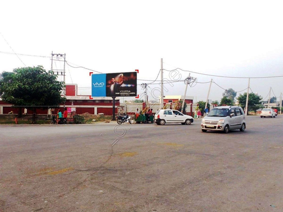 Unipole-Vishwakarma Chowk,Kaithal